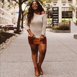 Urban Outfitters Uncut Corduroy Colorblock Dress